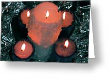 Candle Light Greeting Card