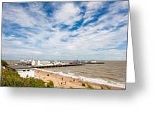 Clacton Pier Greeting Card