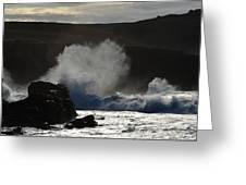 Clogher Beach Greeting Card