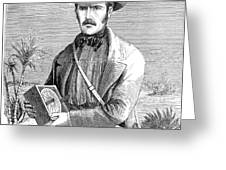 David Livingstone Greeting Card by Granger