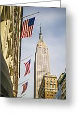 Empire State Building Greeting Card