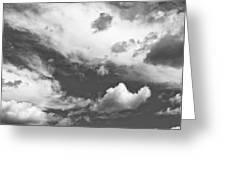 English Summer Sky Greeting Card