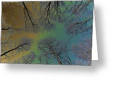 Epping Forest Art Greeting Card