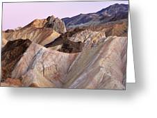 Golden Canyon Death Valley Greeting Card