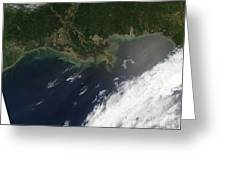 Gulf Oil Spill, April 2010 Greeting Card