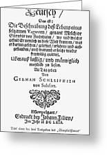 Hans Von Grimmelshausen Greeting Card