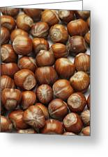 Hazelnuts Greeting Card