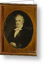 James Buchanan, 15th American President Greeting Card