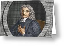 John Flamsteed, English Astronomer Greeting Card