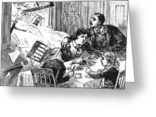 Johnstown Flood, 1889 Greeting Card