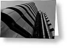 Lloyds Building London Greeting Card