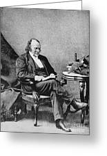 Louis Agassiz, Swiss-american Polymath Greeting Card