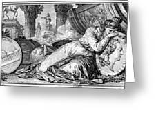 Louis Xv (1710-1774) Greeting Card