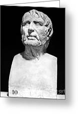 Lucius Annaeus Seneca Greeting Card