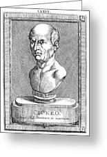 Marcus Tullius Cicero Greeting Card