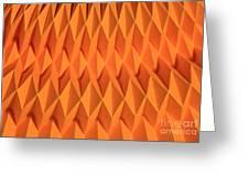 Mathematical Origami Greeting Card