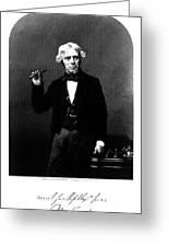 Michael Faraday, English Physicist Greeting Card