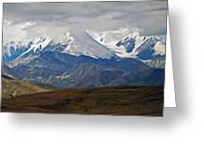 Mount Mckinley Greeting Card