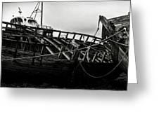 Old Abandoned Ships Greeting Card