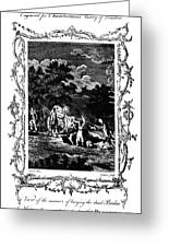 Plague Of London, 1665 Greeting Card