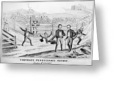 Presidential Campaign, 1844 Greeting Card