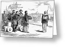 Reconstruction Cartoon Greeting Card
