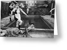 Silent Still: Bathers Greeting Card