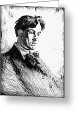 William Butler Yeats Greeting Card