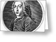 William Pitt (1708-1778) Greeting Card