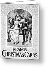American Christmas Card Greeting Card