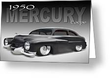 50 Mercury Coupe Greeting Card
