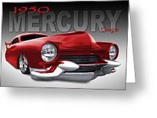 50 Mercury Lowrider Greeting Card