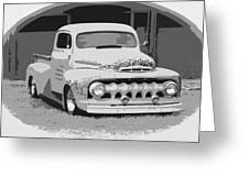 51 Ford Pickup  Greeting Card