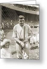 George H. Ruth (1895-1948) Greeting Card