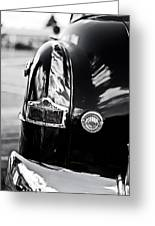 '52 Tail Lights Greeting Card