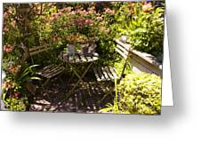 542 Cf Peaceful Garden Greeting Card