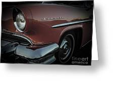 55 Lincoln Capri Greeting Card