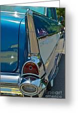 57 Chevy Bel Air 2 Greeting Card