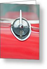 '57 Chevy Hood Ornament 8508 Greeting Card