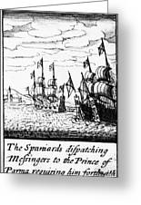 Spanish Armada, 1588 Greeting Card