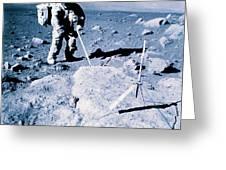 Apollo Mission 17 Greeting Card