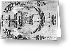 Battle Of Lepanto, 1571 Greeting Card