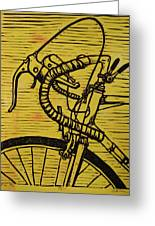 Bike 2 Greeting Card by William Cauthern