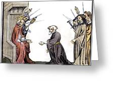 Charlemagne (742-814) Greeting Card