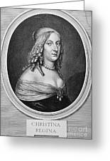 Christina (1626-1689) Greeting Card