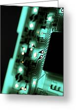 Circuit Board Greeting Card