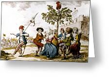 French Revolution, 1792 Greeting Card