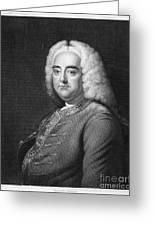 George Frederick Handel Greeting Card