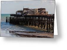 Hastings Pier Greeting Card