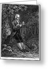 Jean Jacques Rousseau Greeting Card